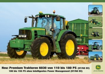 John Deere Traktor 6030 premium - Schweizer Eiken AG