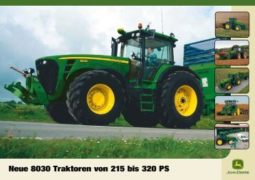 John Deere Traktor 8030 - Schweizer Eiken AG