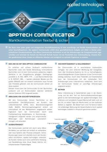 apptech Communicator - applied technologies GmbH