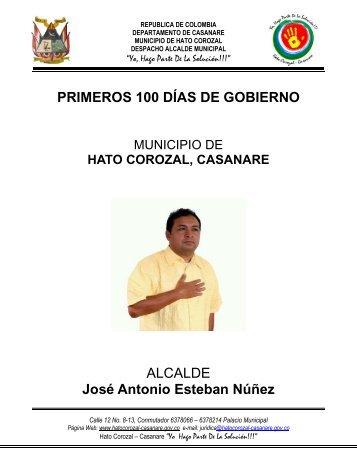 Hatocorozal - Casanare - IG - 100 días - CDIM - ESAP