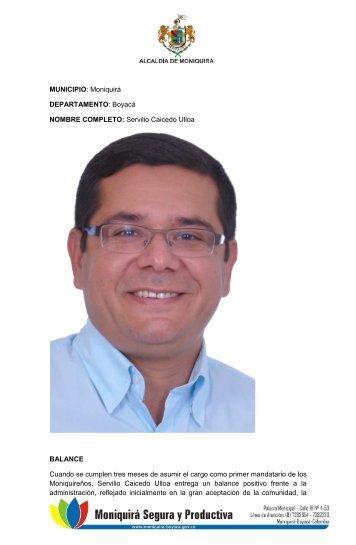 Moniquira Boyaca - CDIM - ESAP