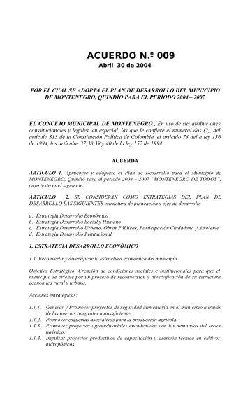 PD_Programa de ... - CDIM - ESAP