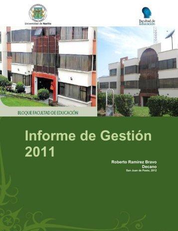 Pasto - Nariño - IG - 2011 - CDIM - ESAP