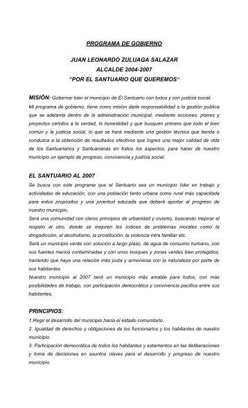 Santuario - Antioquia - CDIM - ESAP