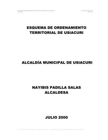 EL TERRITORIO MUNICIPAL - CDIM - ESAP
