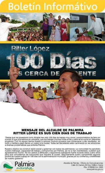 Palmira - Valle del Cauca - IG - 100 días - CDIM - ESAP