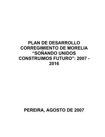 Corregimiento de Morelia - CDIM - ESAP