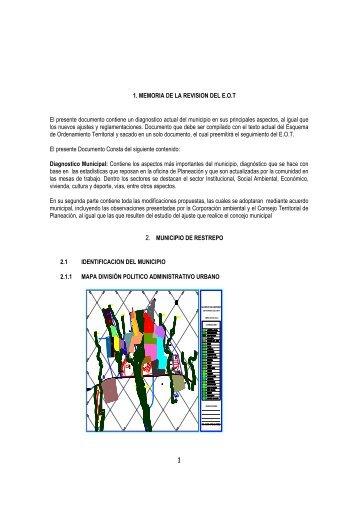 Restrepo - Meta - EOT - Ajuste y Revisión - 2006 - CDIM - ESAP