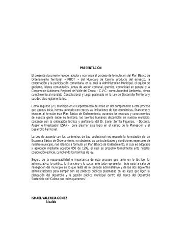 EOT_Esquema de Ordenamiento ... - CDIM - ESAP