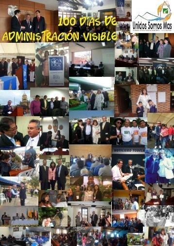 Edicion especial La Calera hacia el Futuro - 100 días - CDIM - ESAP