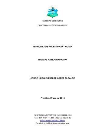 Frontino-Antioquia-PAC-2013 - CDIM - ESAP