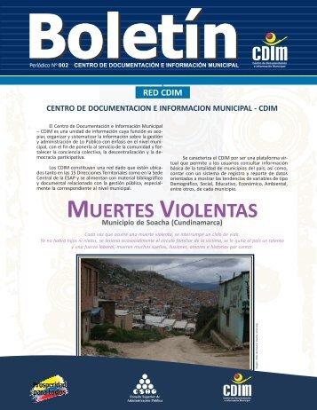 Boletín 2 Soacha - CDIM - ESAP - Escuela Superior de ...