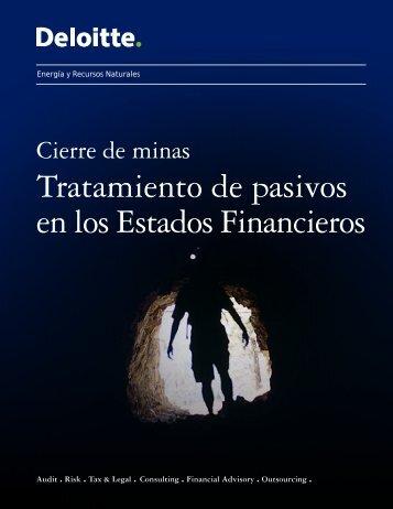 Tratamiento de pasivos en los Estados Financieros - Deloitte Chile