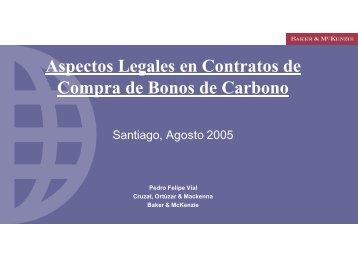 Aspectos Legales en Contratos de Compra de Bonos de Carbono