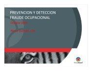 PREVENCION Y DETECCION FRAU DE OCU PACIONAL