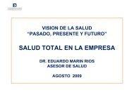 SALUD TOTAL EN LA EMPRESA - Deloitte Chile