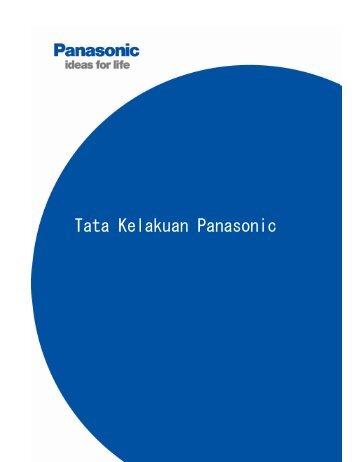 Tata Kelakuan Panasonic