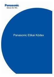 Panasonic Code of Conduct