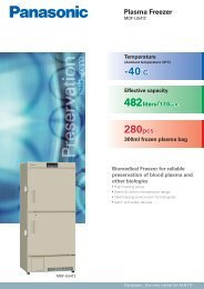 Plasma Freezer MDF-U5412(251K) - Panasonic