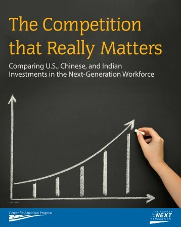 The Competition that Really Matters - Center for American Progress