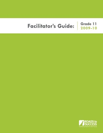 Facilitator's Guide: - College in Colorado