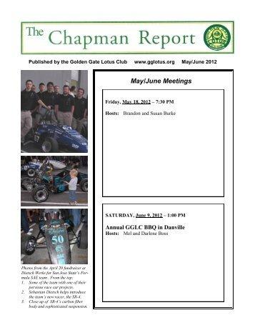 May/June Meetings - Golden Gate Lotus Club