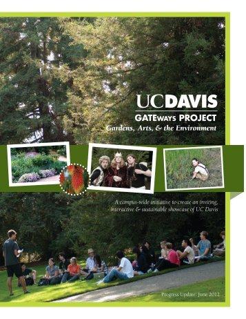 GATEways Project Progress Update (June 2012) - the UC Davis ...