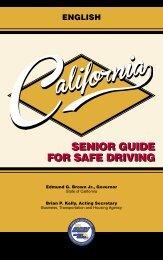 Senior Guide for Safe Driving (PDF) - California Department of Motor ...