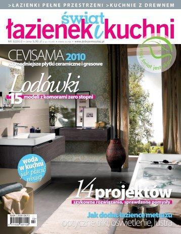 świat łazienek i kuchni nr 3/2010 - Marmorin