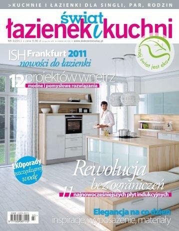 świat łazienek i kuchni nr 3/2011 - Marmorin