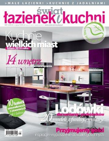 świat łazienek i kuchni nr 1/2010 - Marmorin