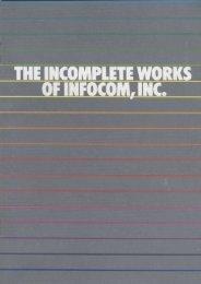 infocom-catalog2 - Museum of Computer Adventure Game History