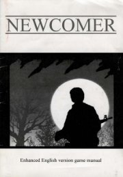 NEWCOMER - Museum of Computer Adventure Game History