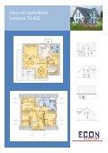 Haus mit Satteldach Variante 70-020 - ECON Werkzeuge - Seite 2