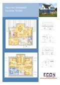 Haus mit Satteldach Variante 70-030 - ECON Werkzeuge - Seite 2