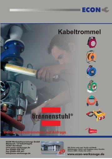 ECON Kabeltrommel - ECON Werkzeuge