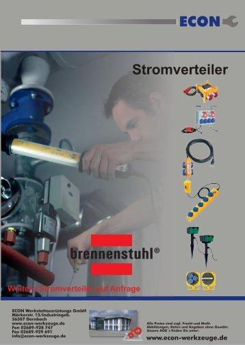 ECON Stromverteiler - ECON Werkzeuge