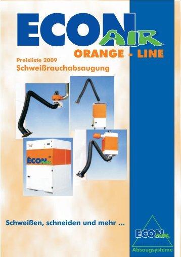 Orange-Line - ECON Werkzeuge