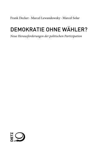 Leseprobe - Verlag J.H.W. Dietz Nachf.