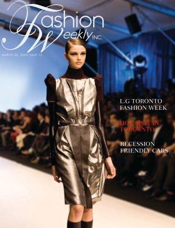 RECESSION FRIENDLY CARS L.G TORONTO ... - Fashion Weekly