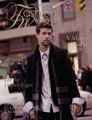 A Man's World - Fashion Weekly
