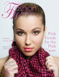 Pink Trends for the Pink Cause - Fashion Weekly