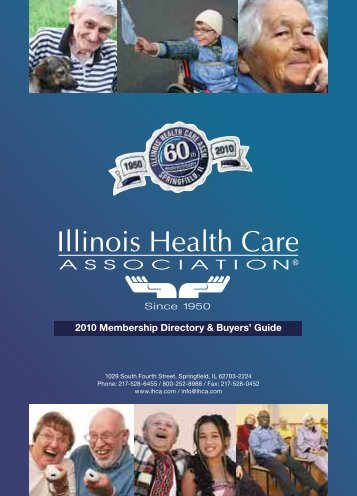 2010 Membership Directory & Buyers' Guide - Illinois Health Care ...