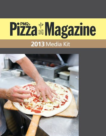 Media Kit - PMQ Pizza Magazine