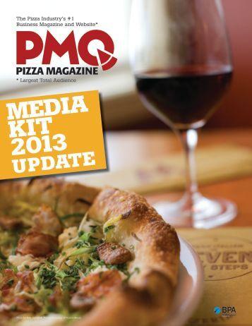 media kit 2013 update - PMQ Pizza Magazine
