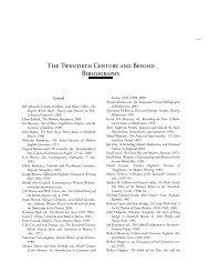 The Twentieth Century and Beyond Bibliography - Broadview Press ...