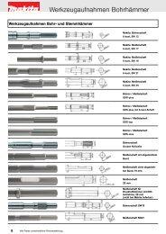Zubehör Katalog 2009 - Makita