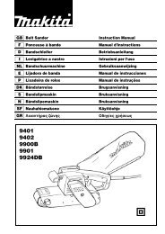 Manual de instrucciones - Makita