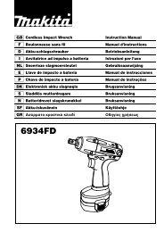 6934FD - Makita