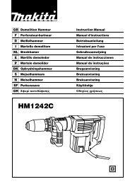 HM1242C - Makita